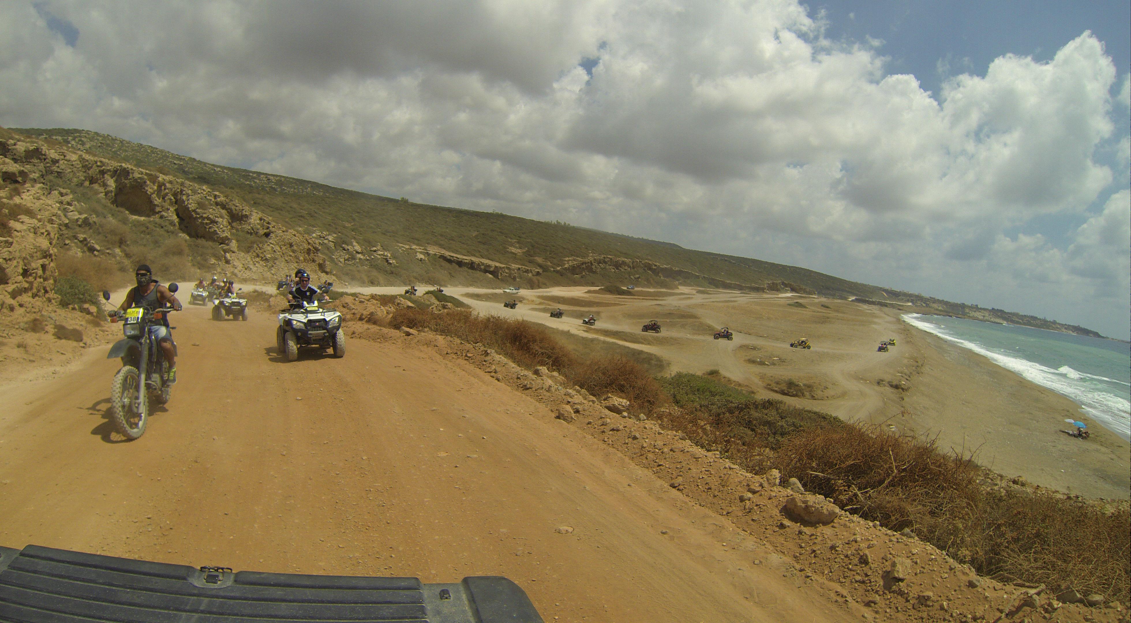 Entering Akamas and on the way to Lara Bay