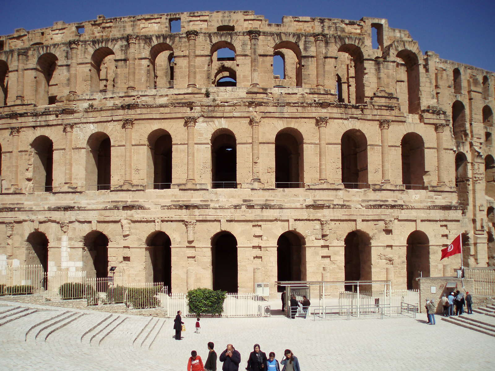 Go to the World Famous Roman Amphitheatre
