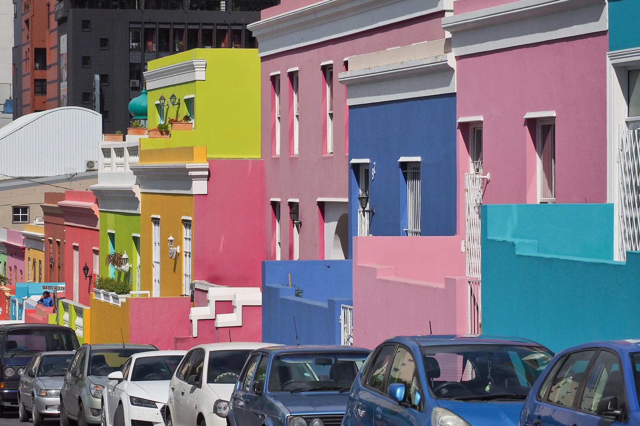 Colorful Malay houses