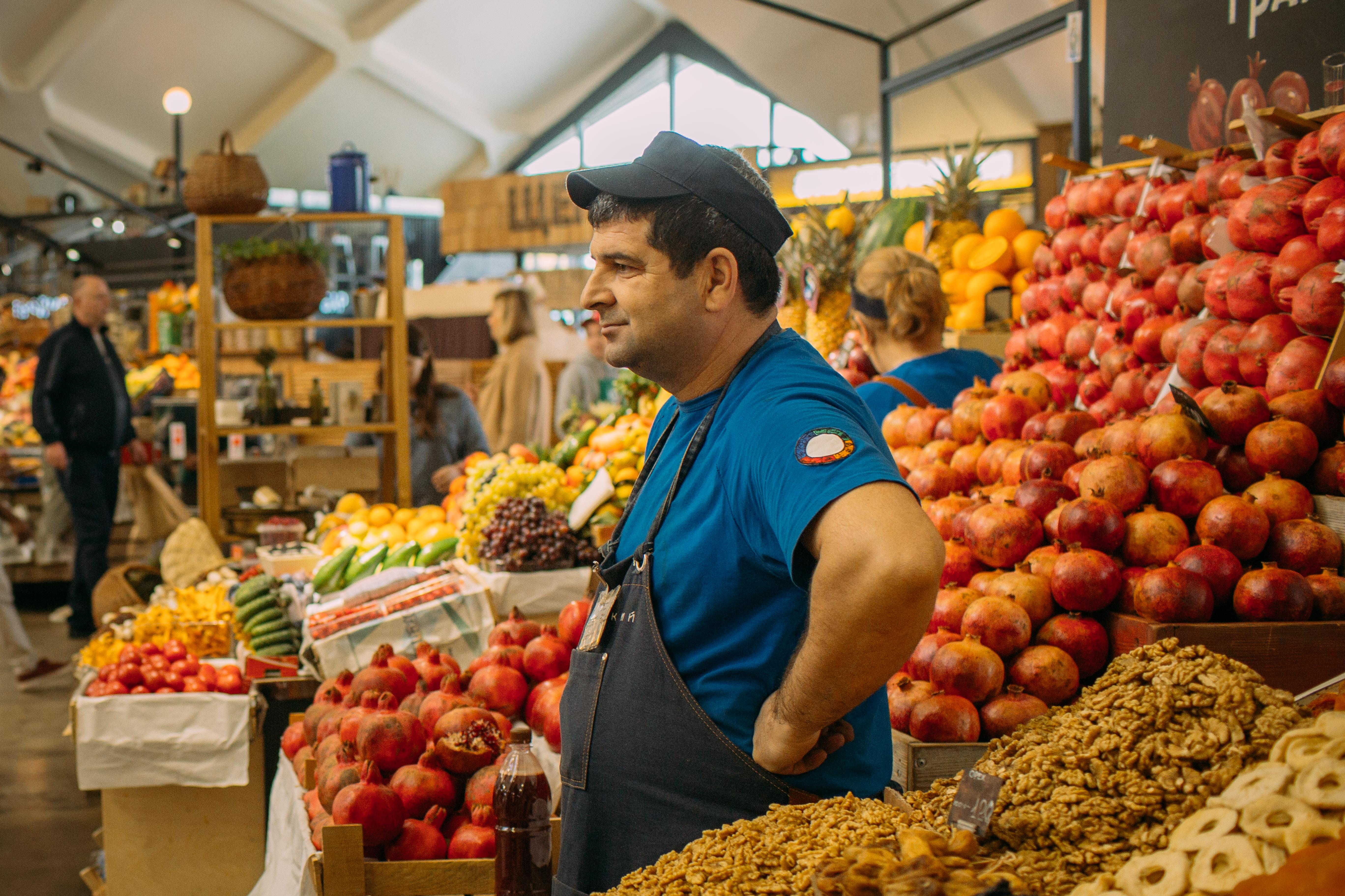 Danilovskiy market place