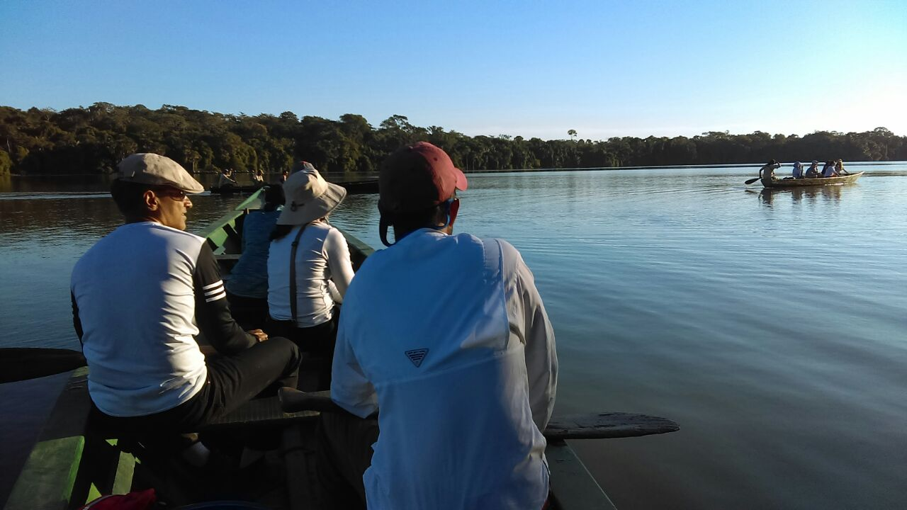 Boating To Tambopata National Reserve In Peru