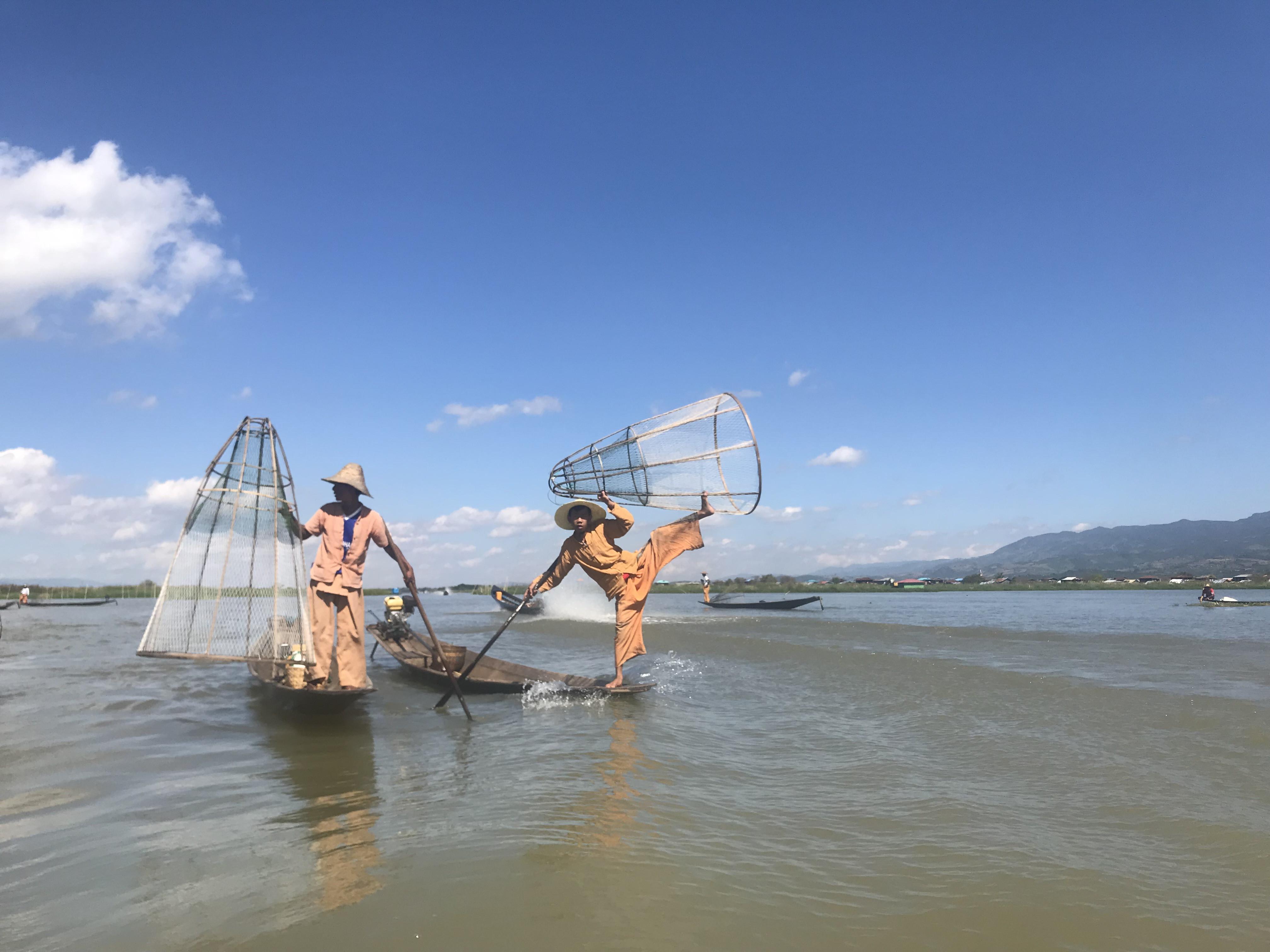 See local fishermen