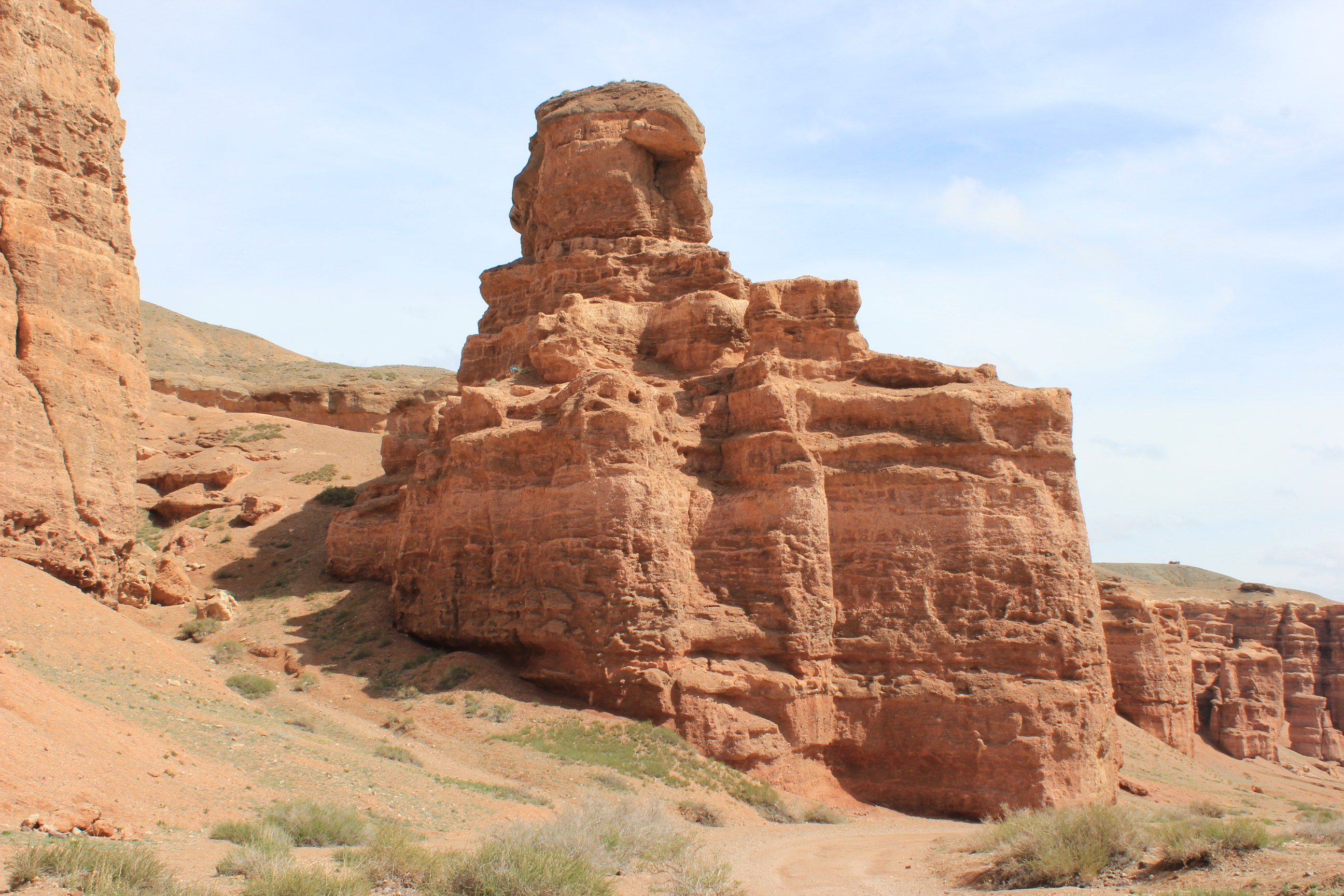 Scenic Views of Charyn Canyon