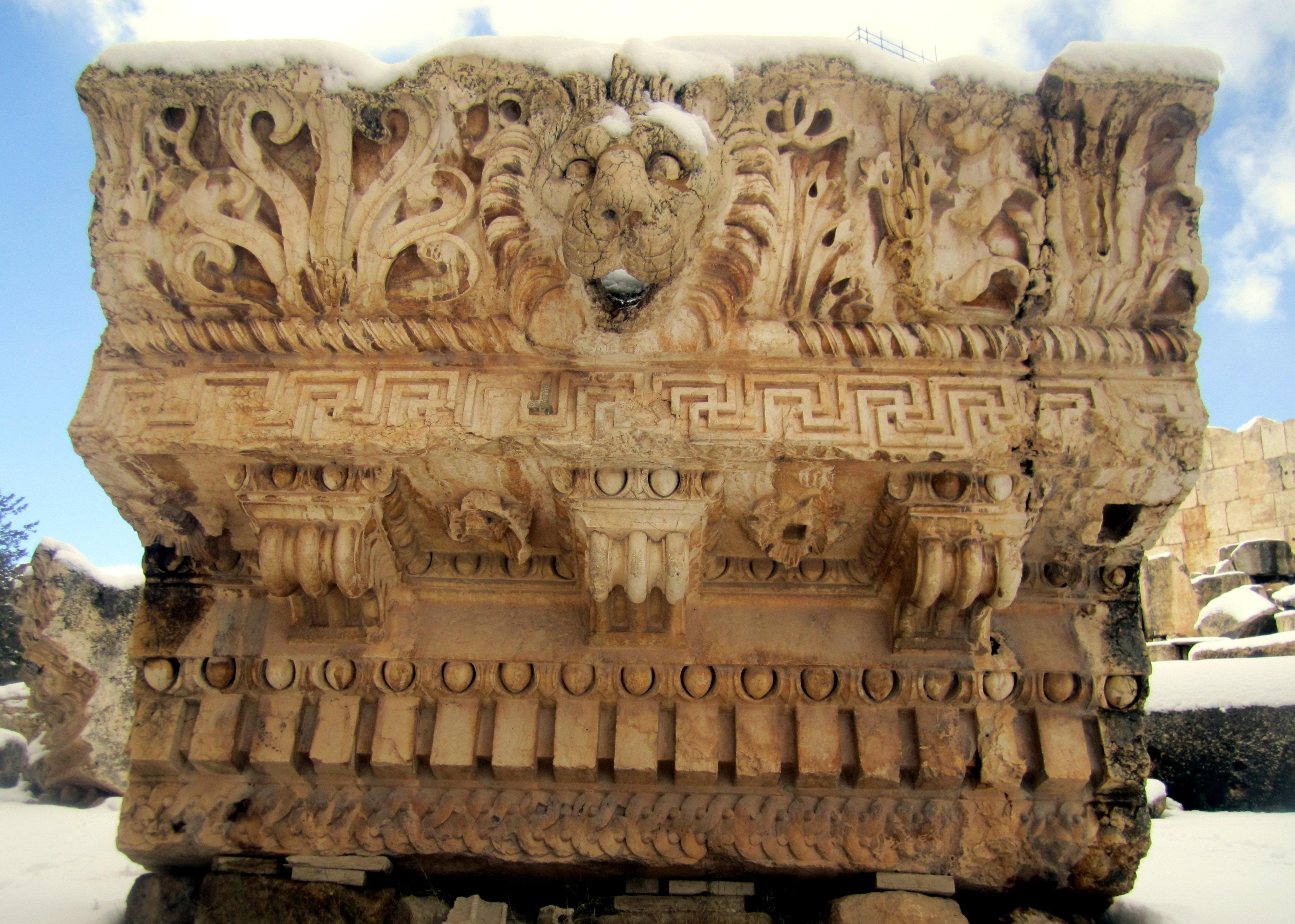 Jupiter Temple Architecture