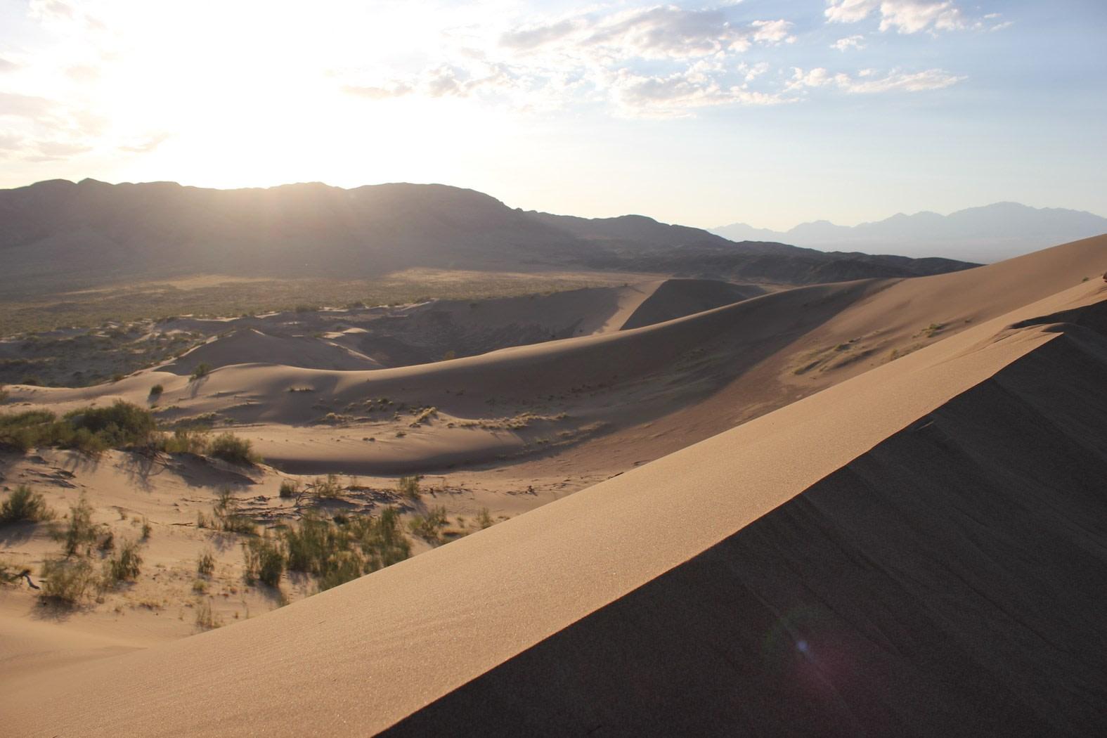 Sand Dunes in Altyn Emel National Park, Kazakhstan