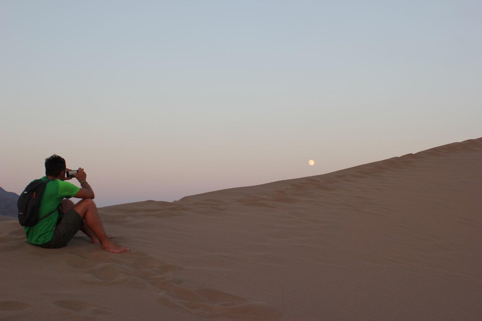 Sunset at Altyn Emel National Park, Kazakhstan