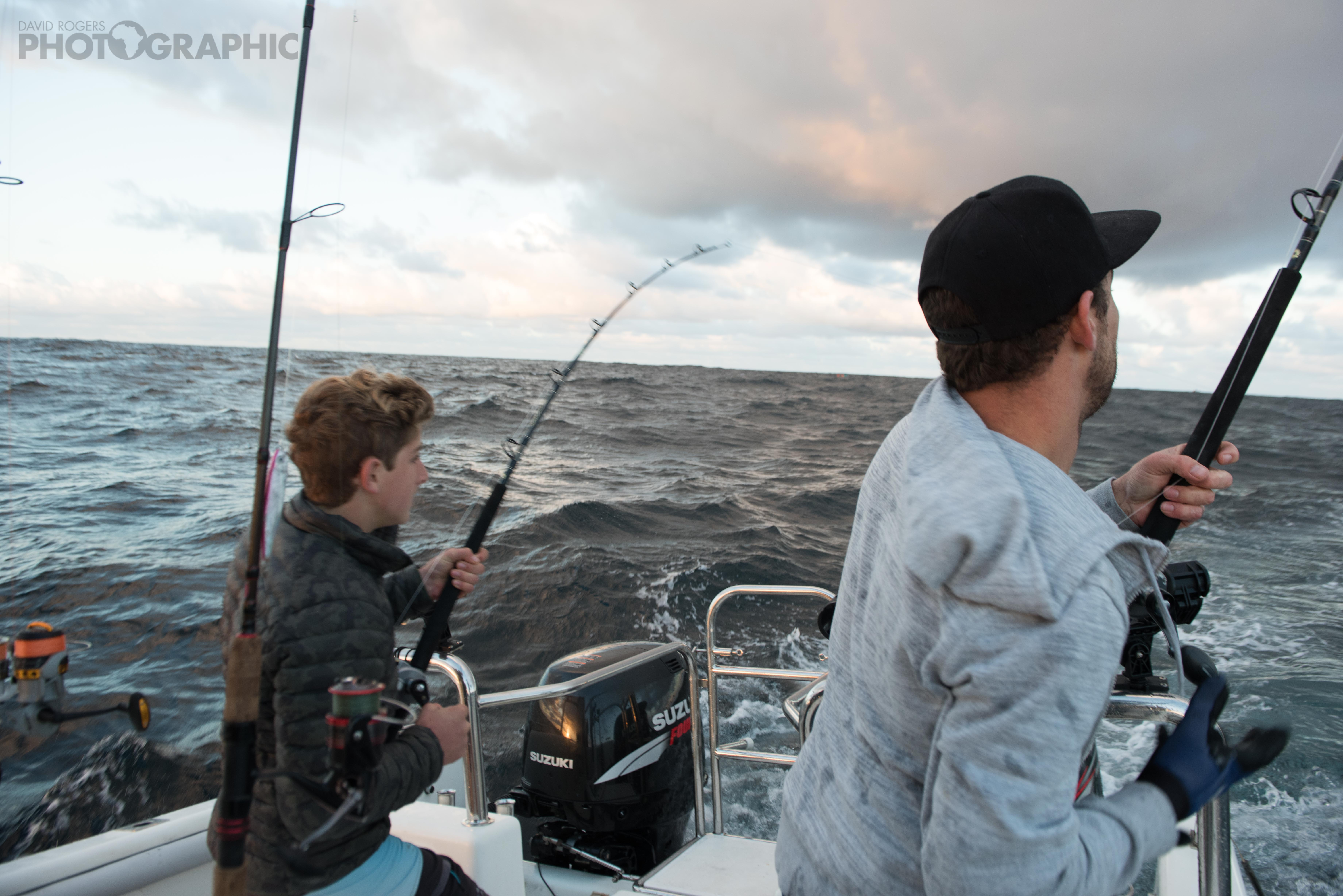 Fishing At Cape Point, South Africa