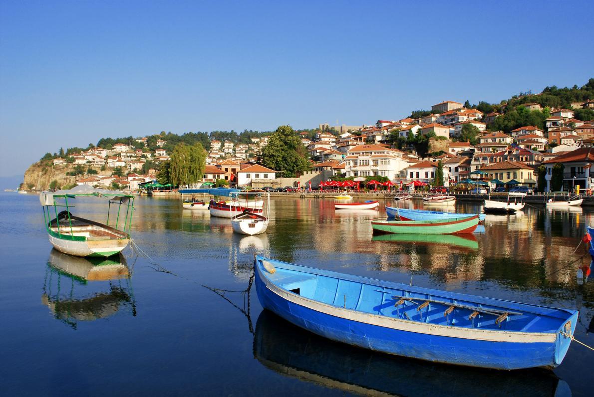 Ohrid City Lake View