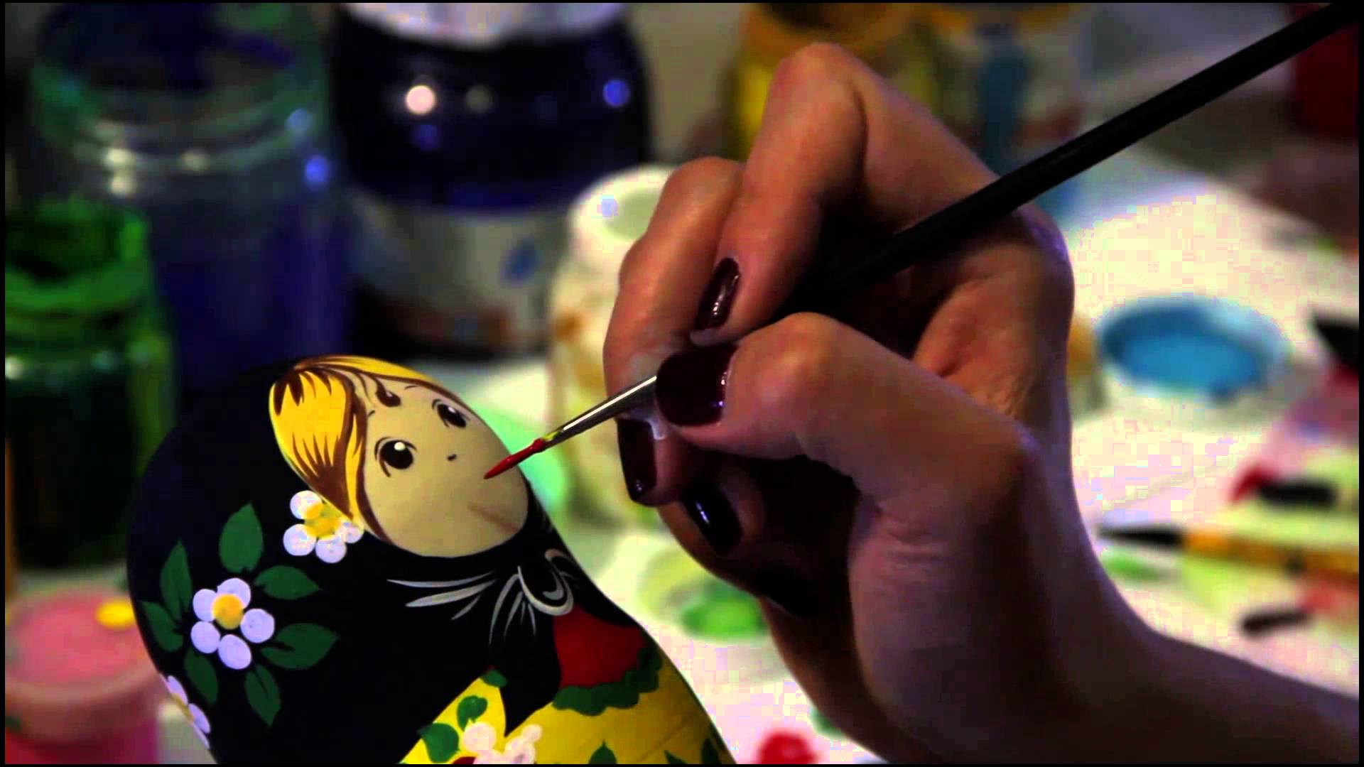 Matryoshka Doll/Nesting doll in Sergiev Posad