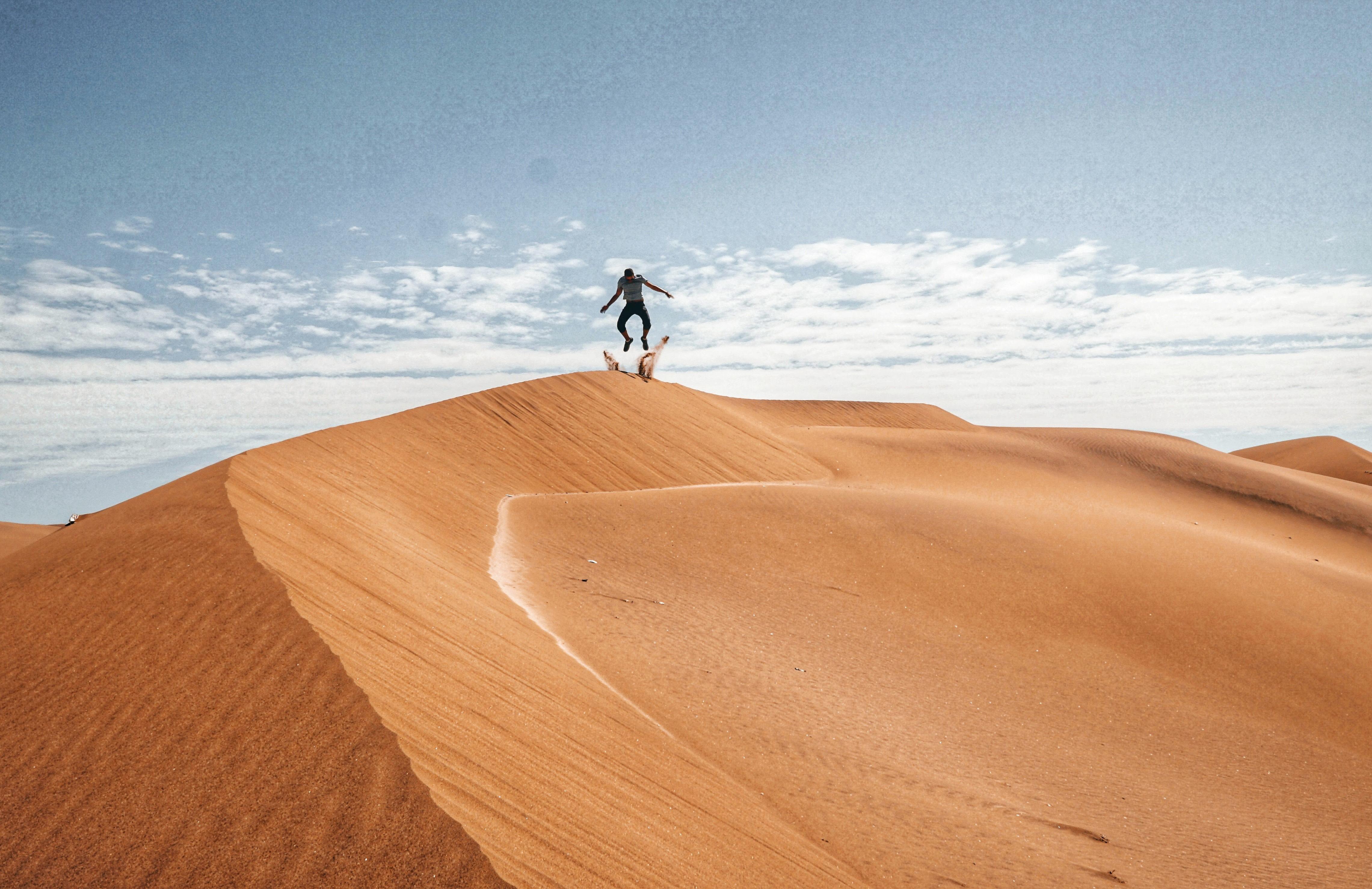 Enjoy Sandboarding