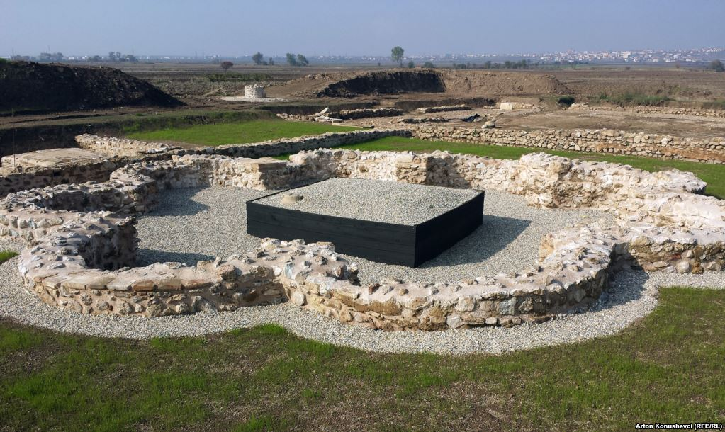 Roman ruins in Ulpiana