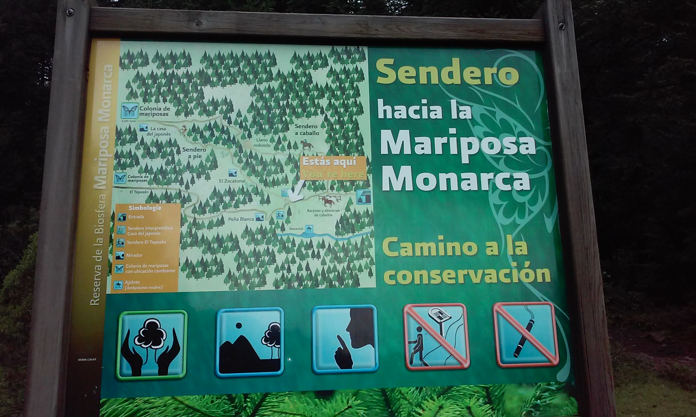 The Monarchs Trail Map