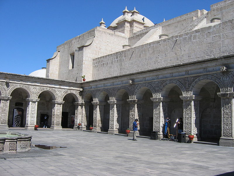 Old Colonial Structures of Arequipa, Peru