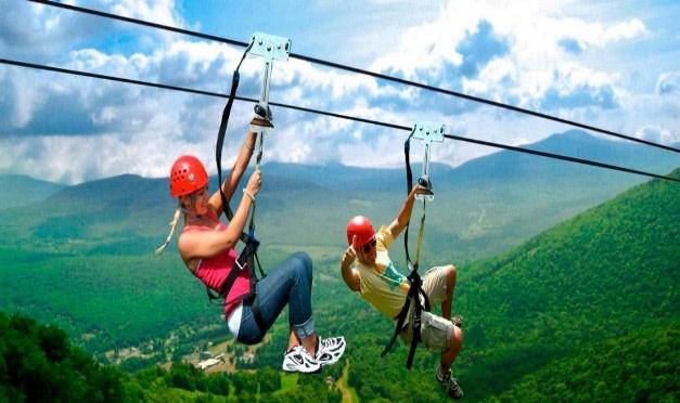 Sky Park zip line