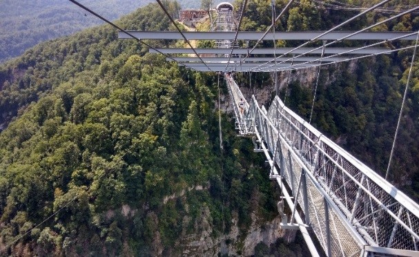 The Sky park bridge