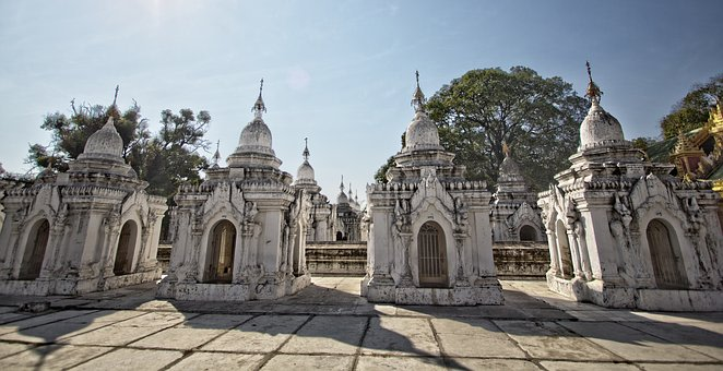 See the World's Largest Book at Kuthodaw Pagoda