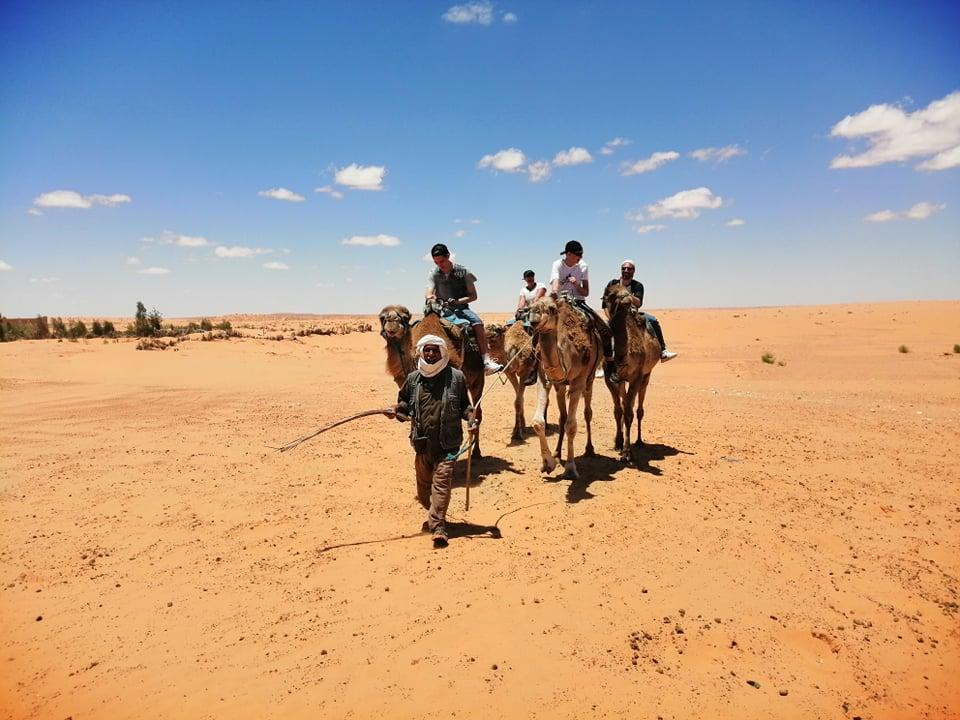 Ride a Camel in Ksar Ghilane