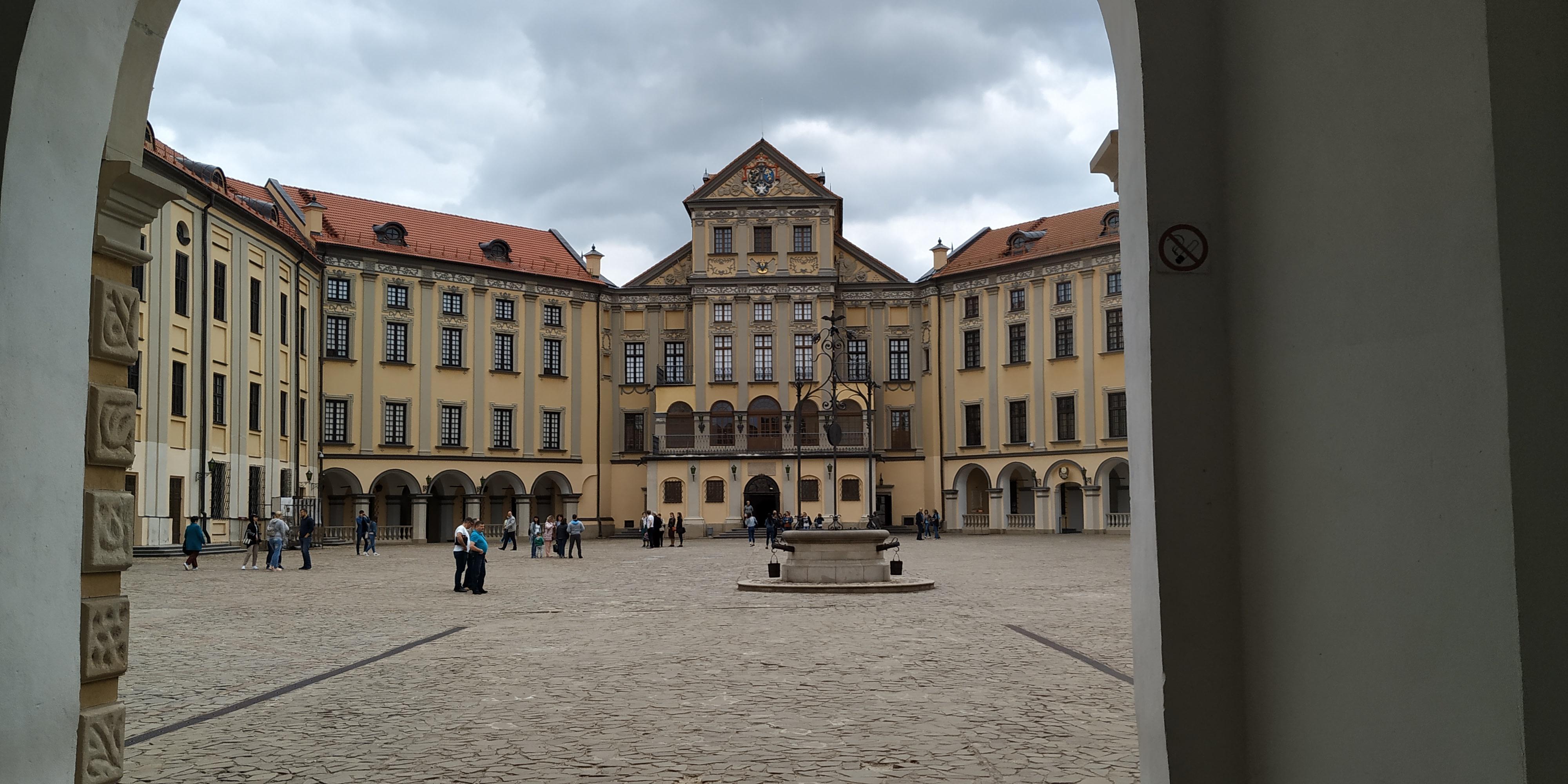 Inside the Nesvizh Castle