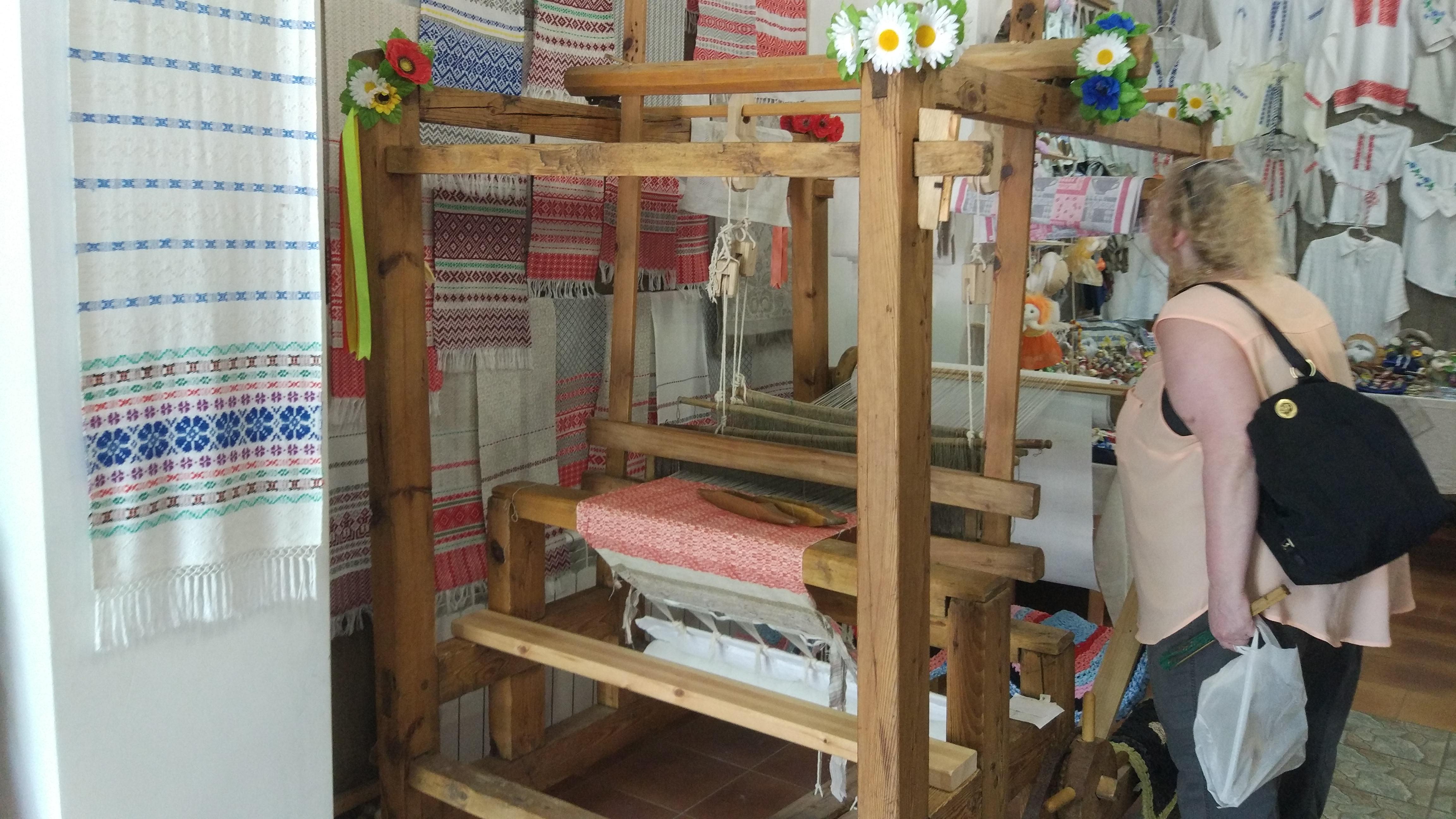 Learn about Weaving in Dudutki Museum