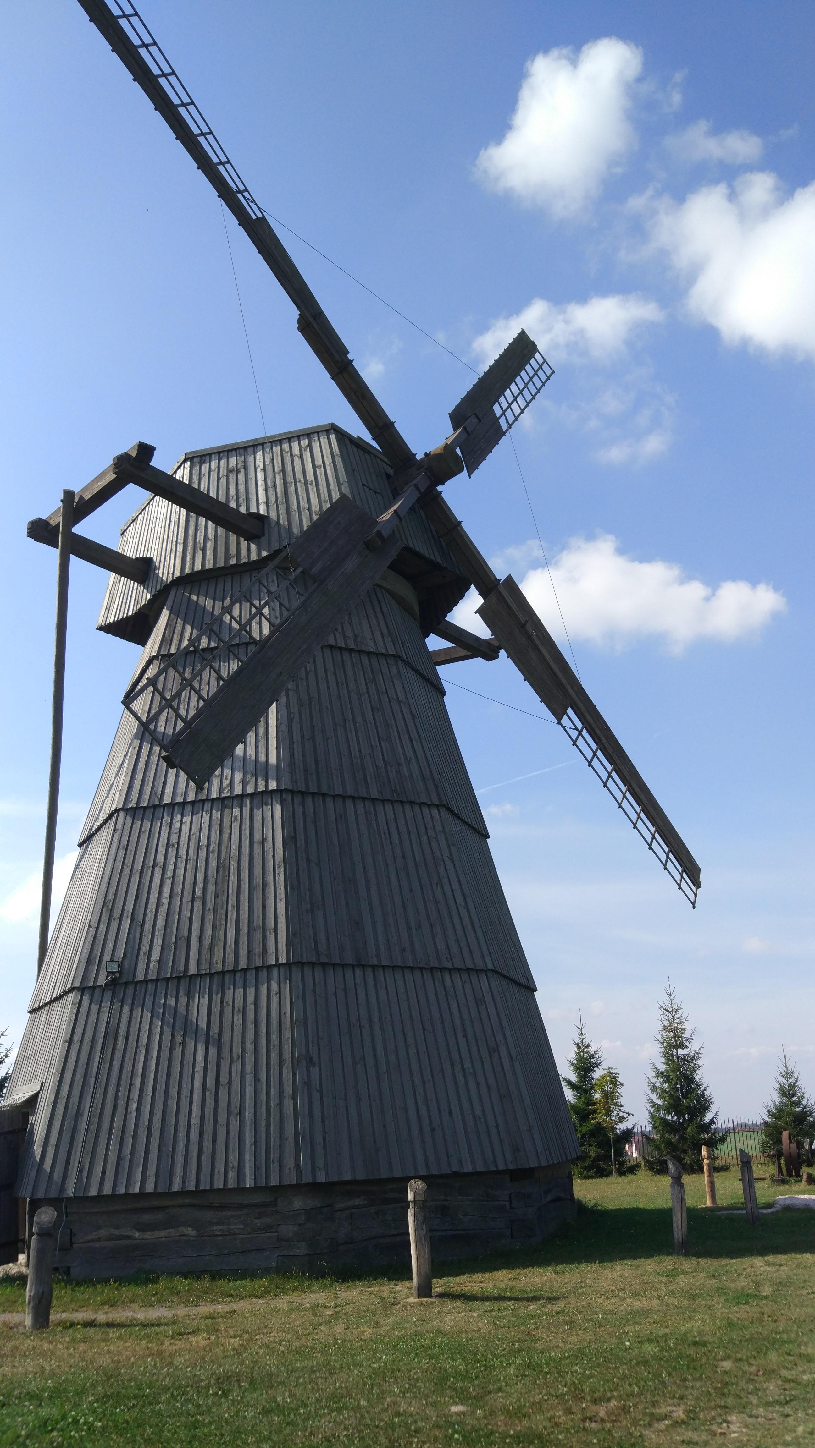 See a Windmill at Dudutki Museum