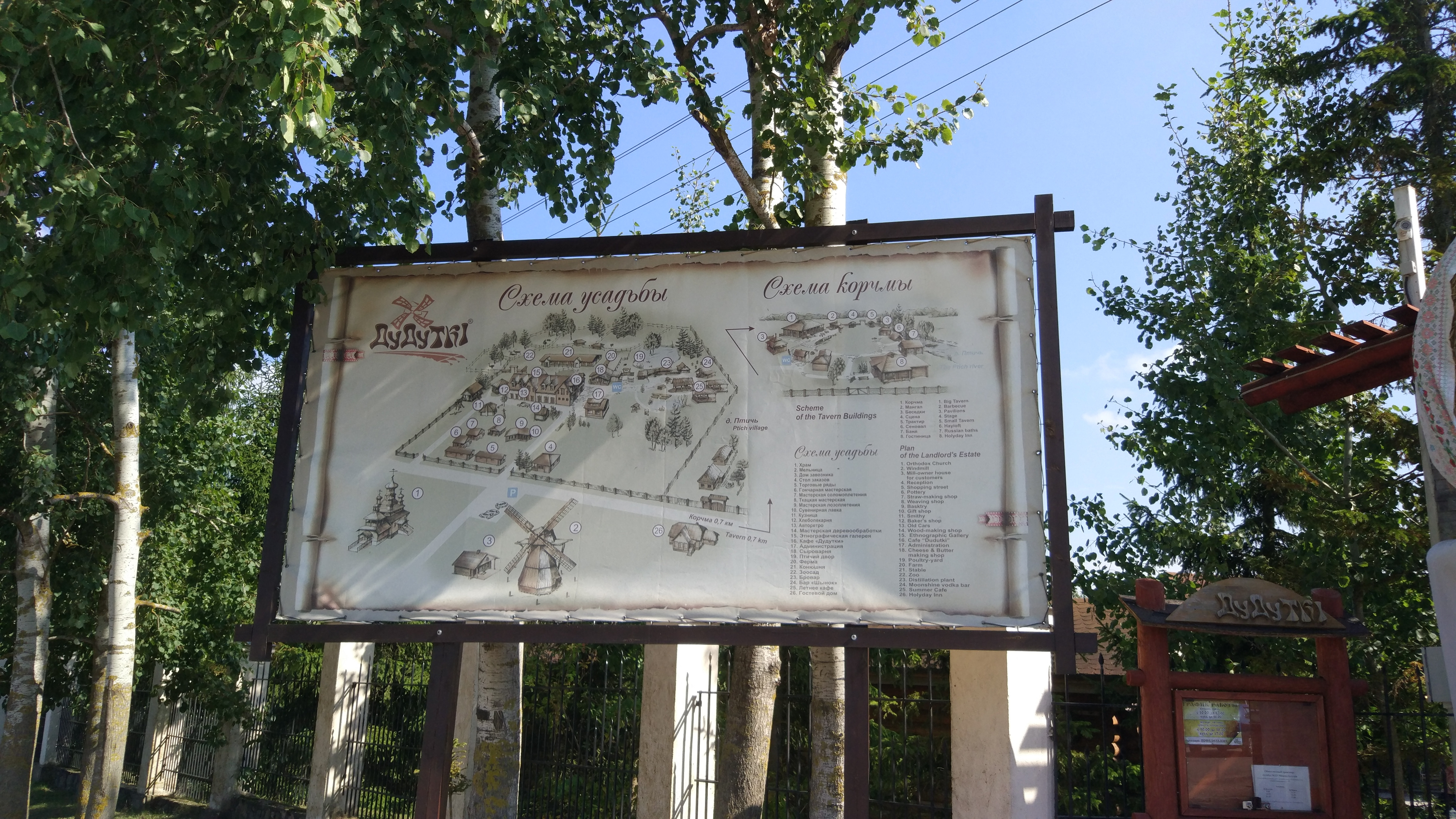 Map of Dudutki Museum