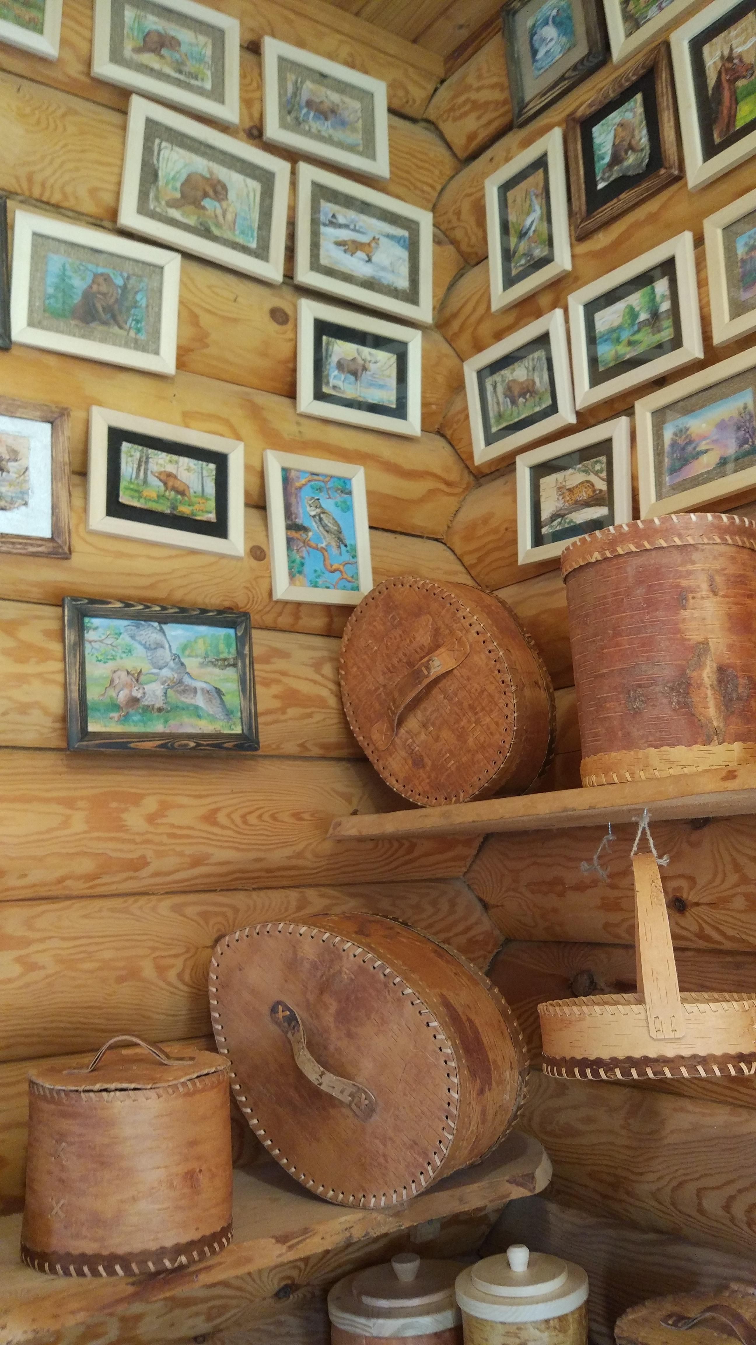 See Paintings in the Dudutki Museum