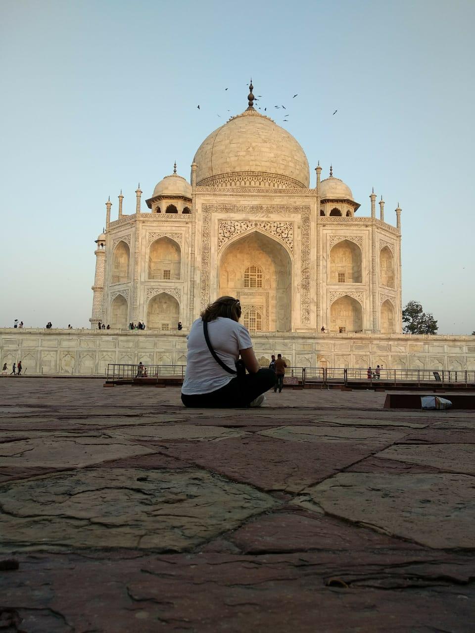 Admire the Taj Mahal