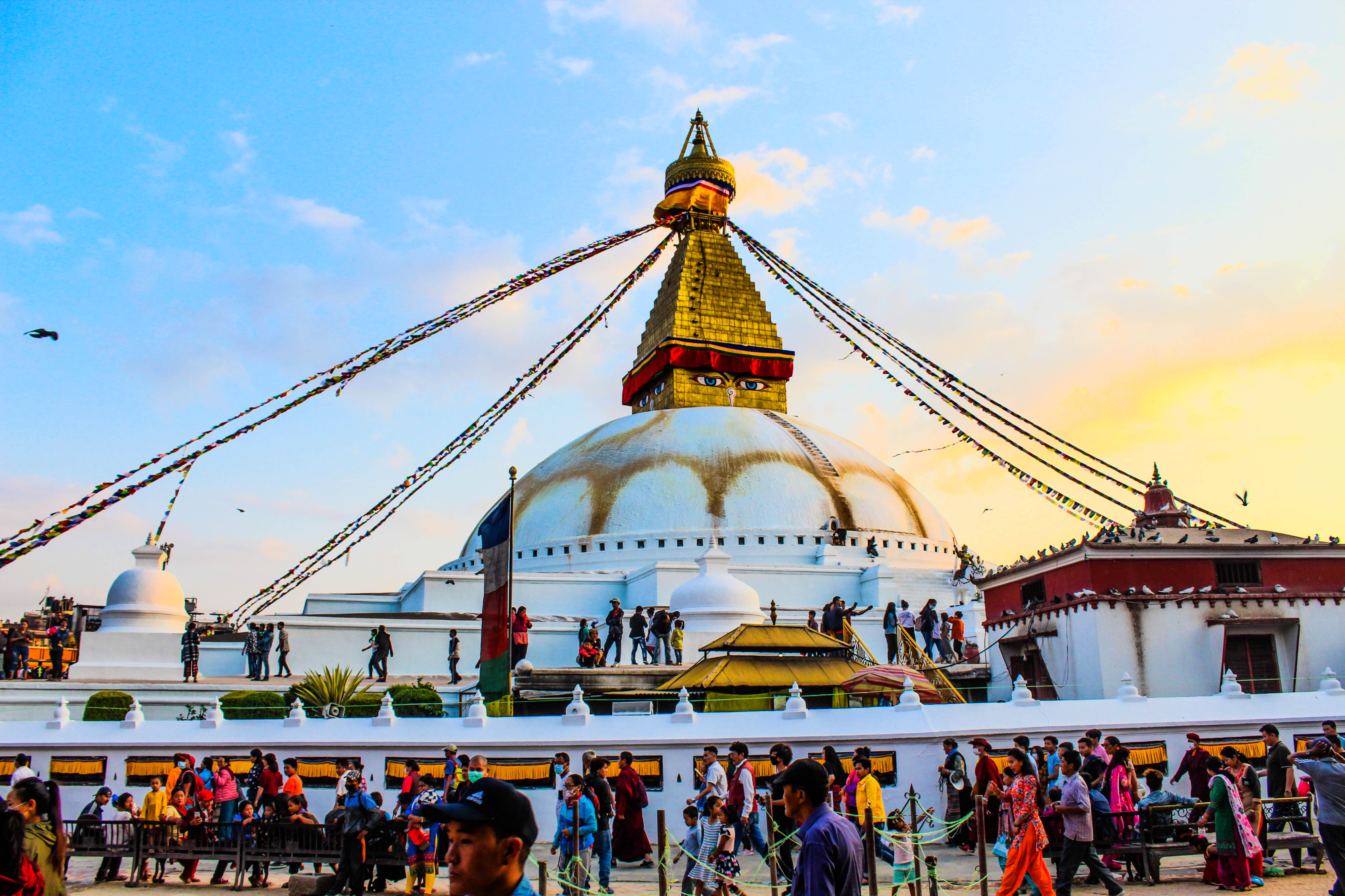 Explore the Stupa