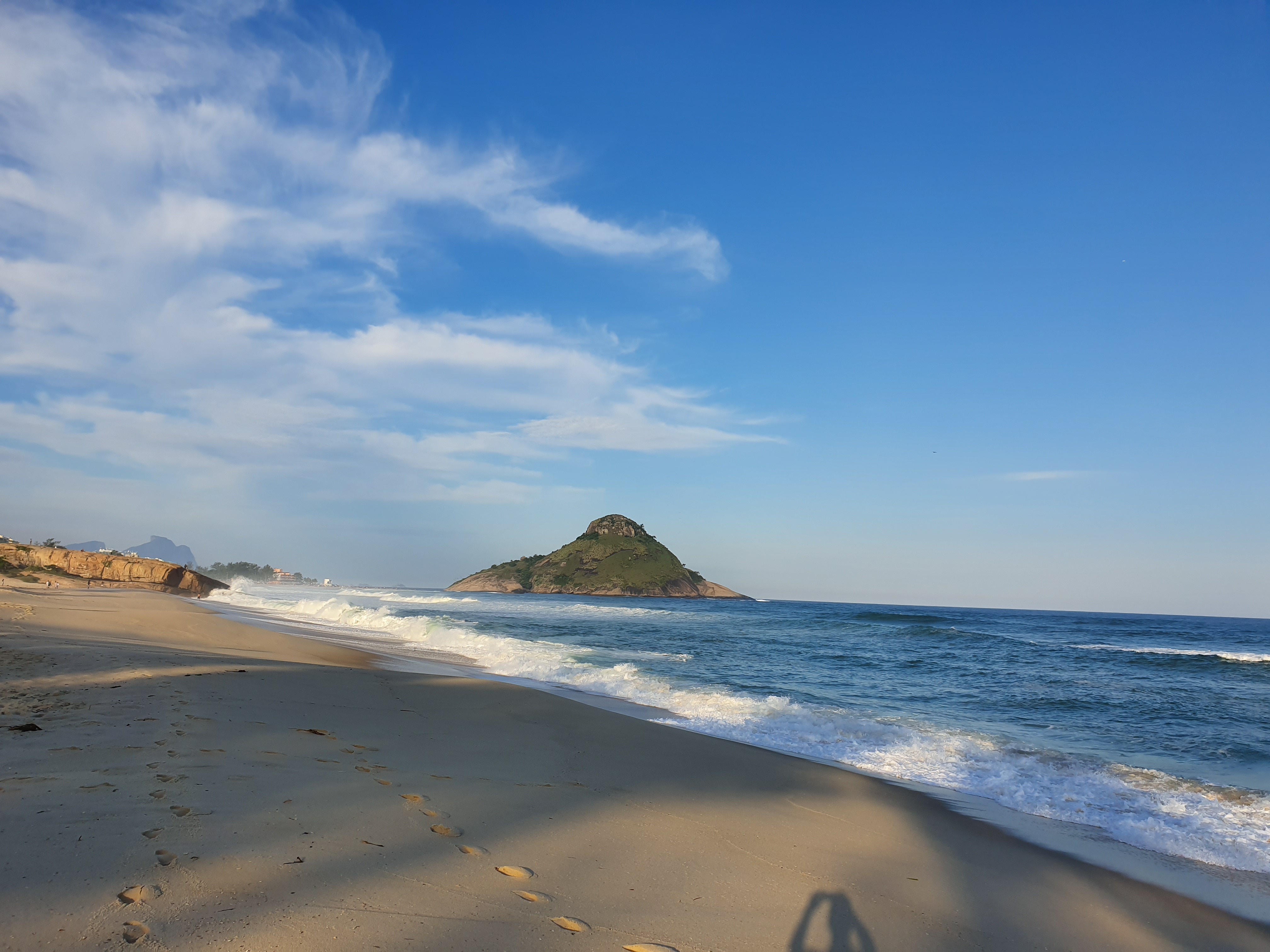 Macumba beach at sunset