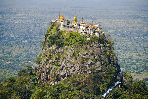 Nat Temples atop Mount Popa