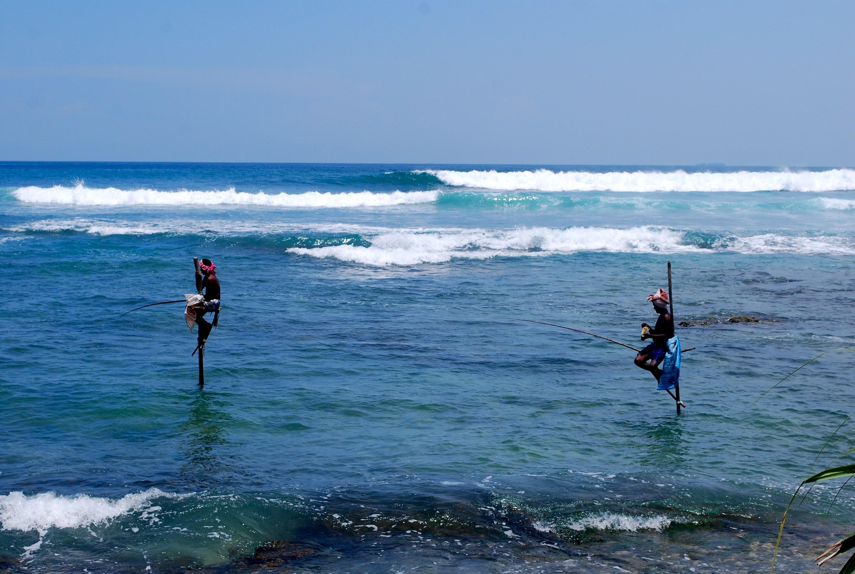 Stilt Fishermen in Habarana