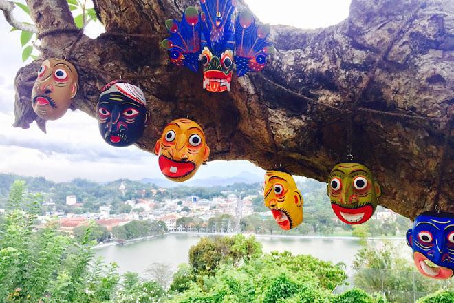 Masks at Kandy City