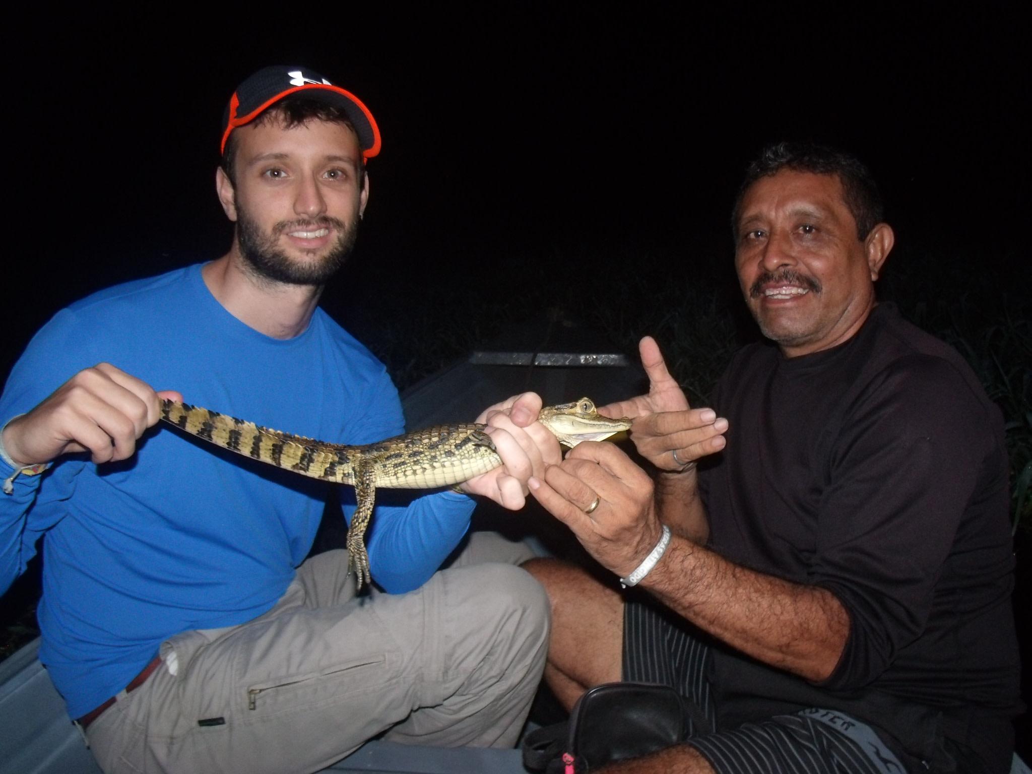 Captured a Caimans.