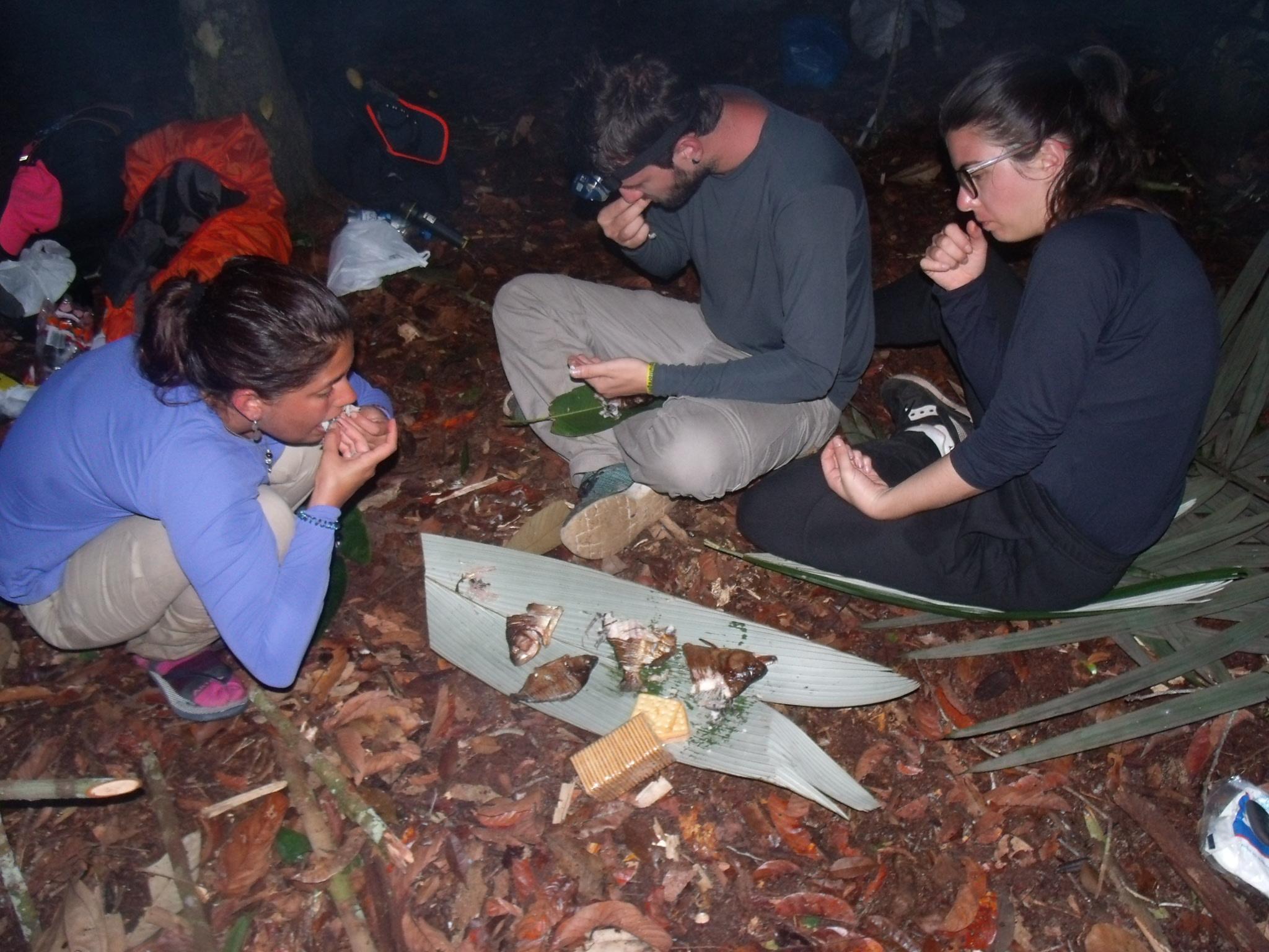 Tasting Fish in Amazon