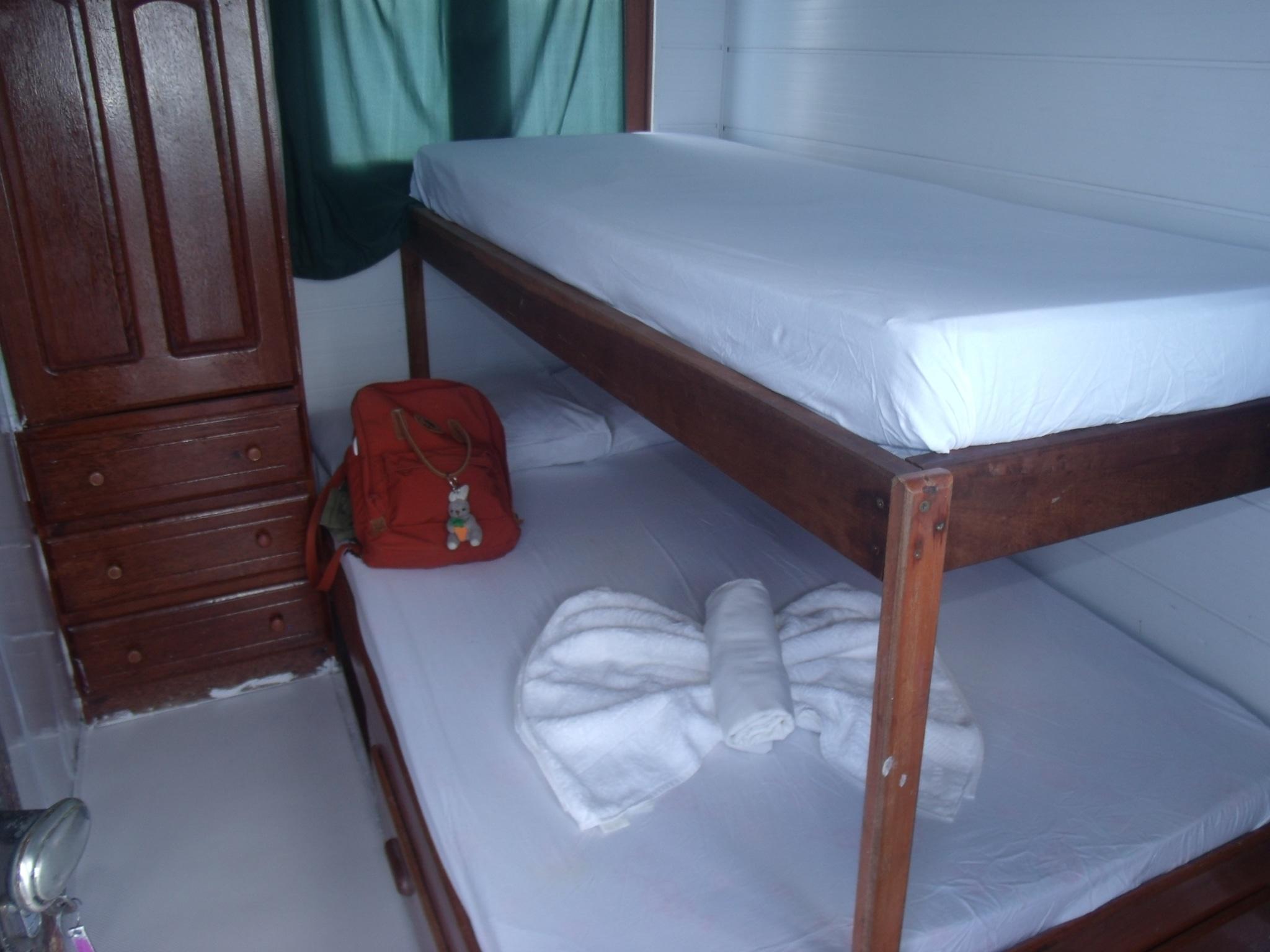 Nicely prepared bed