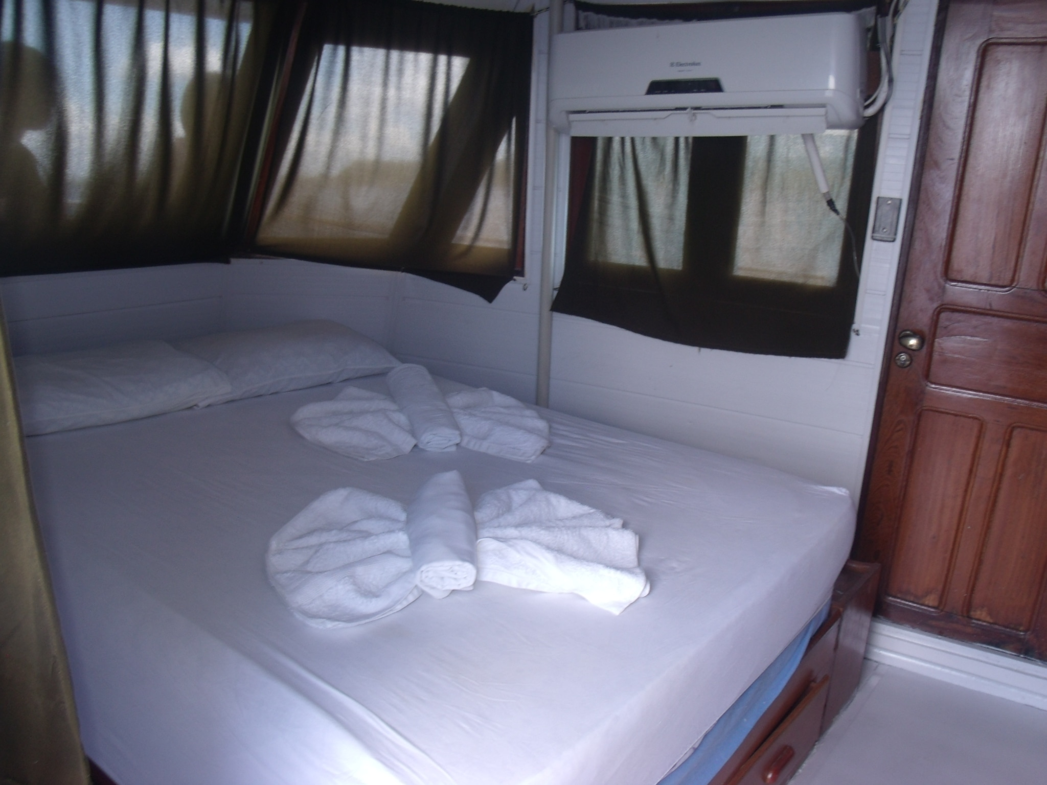 Air Conditioned Cabins on the Cruise