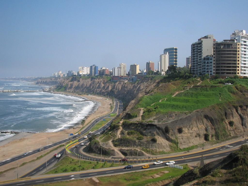 Coastline & Cliffs Of Lima