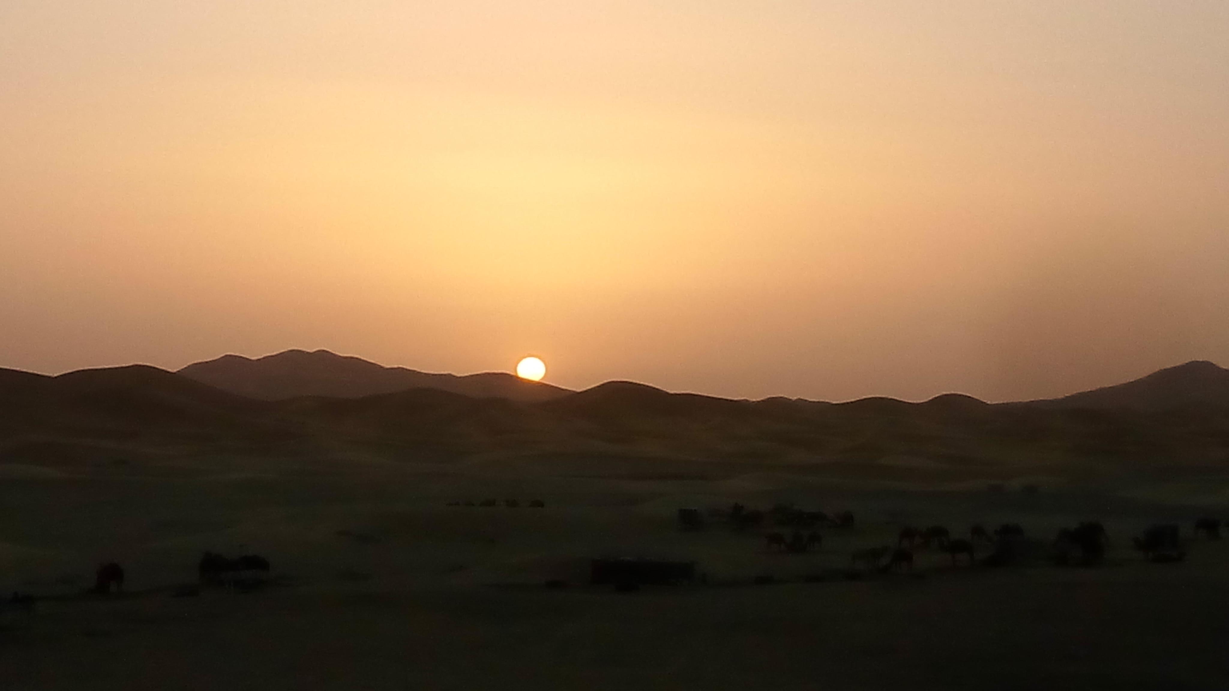 Mesmerizing sunrise