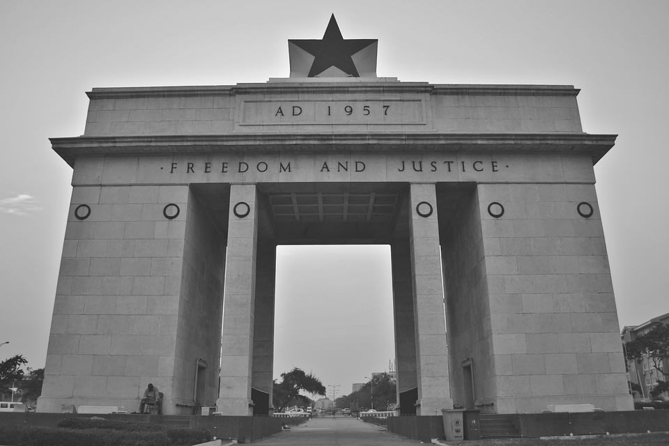 Independence Square of Accra, Ghana