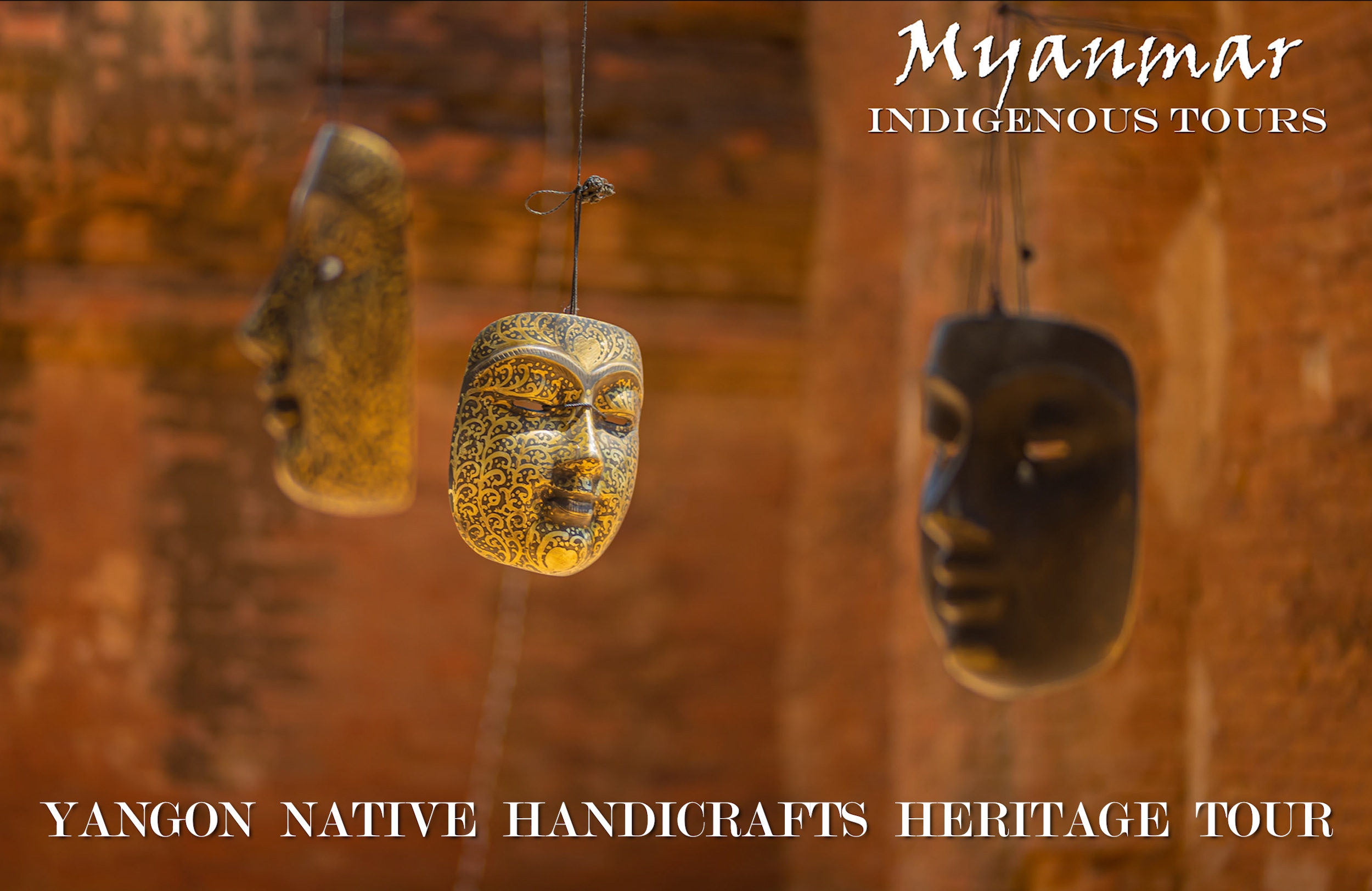 See exquisite Native Handicrafts of Yangon