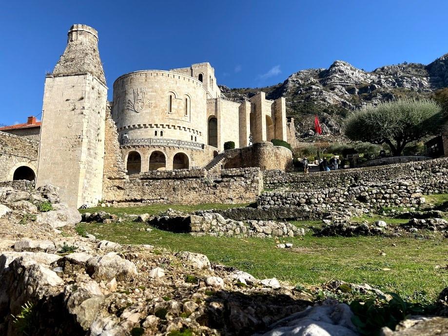 See the Skanderbeg's Museum in Kruja Castle, Kruje