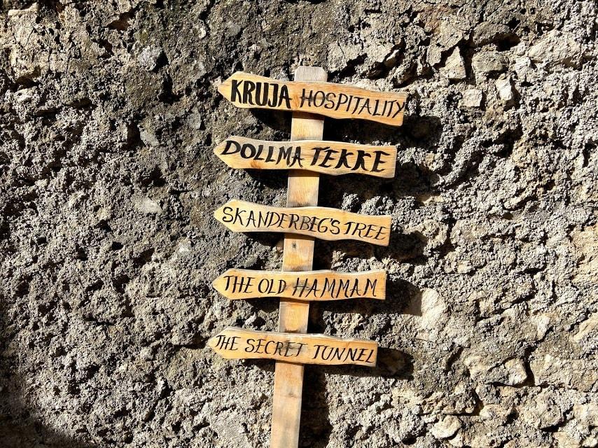 Visit the Kruja Castle in Kruje