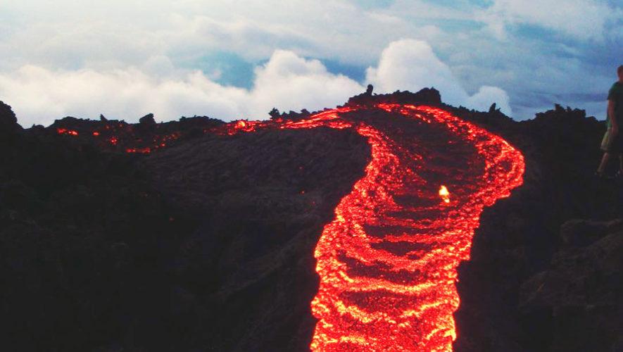 Lava of Volcan de Pacaya