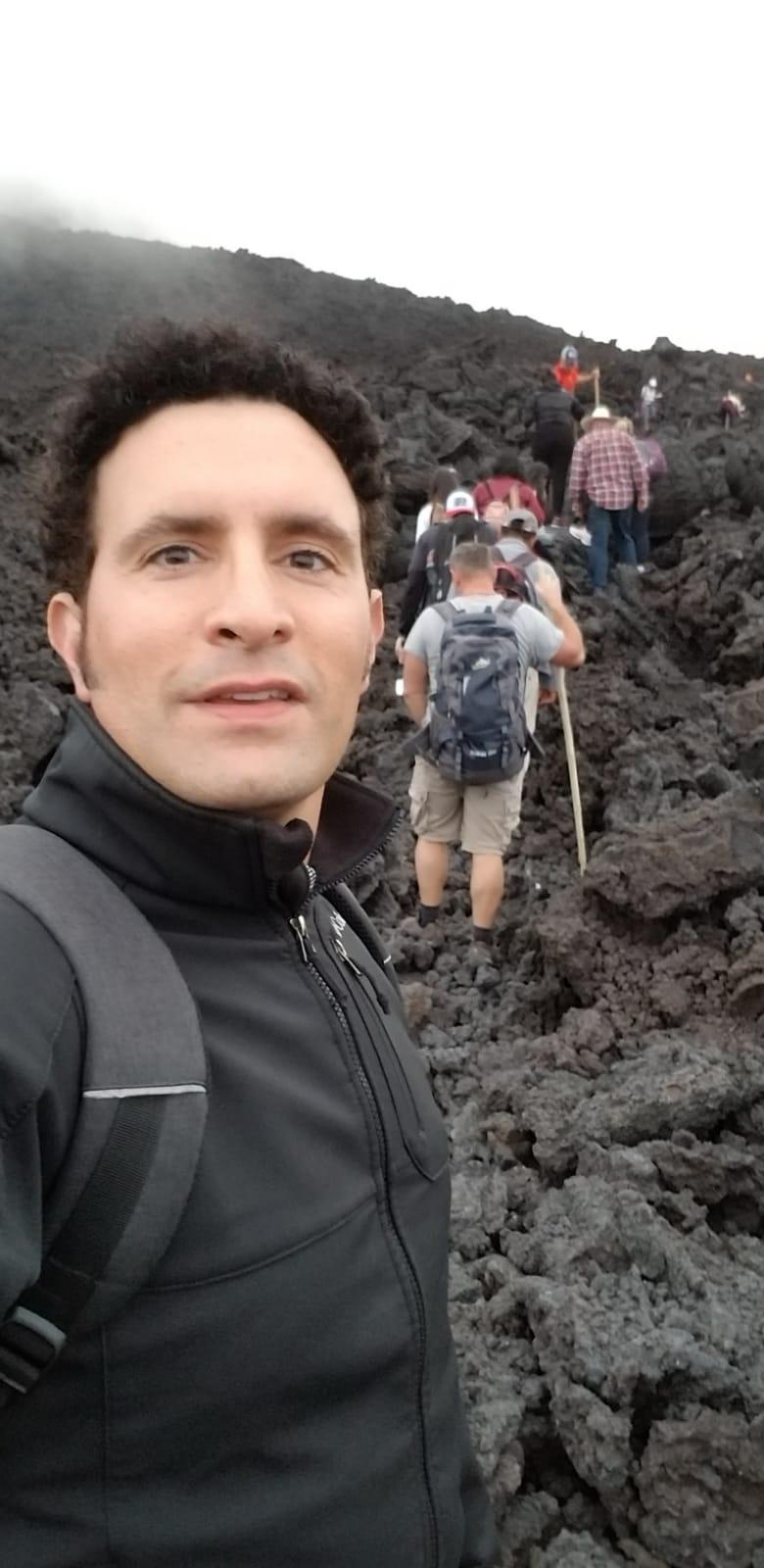 On way to Volcan de Pacaya