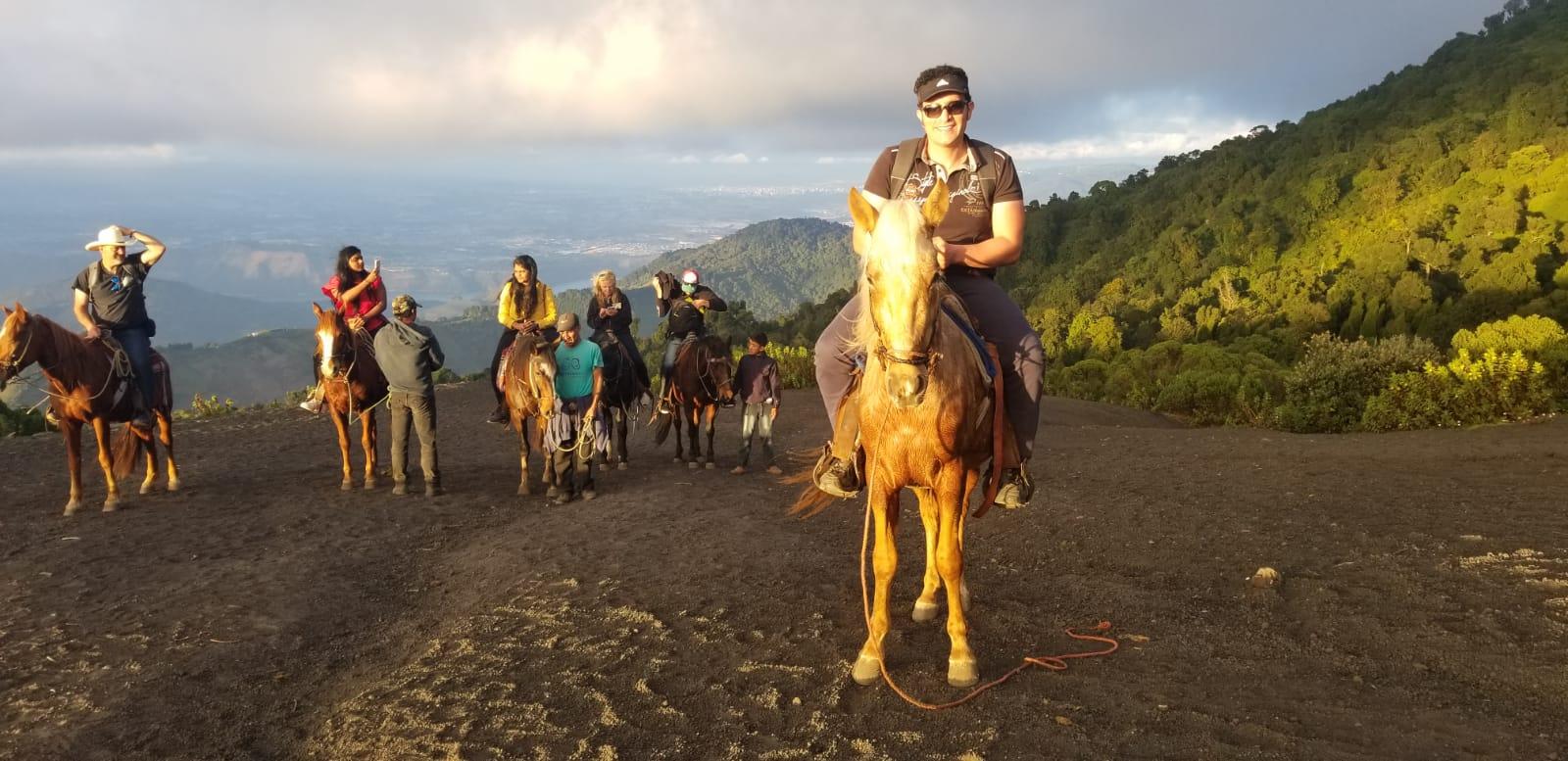 Horse rides at Volcan de Pacaya