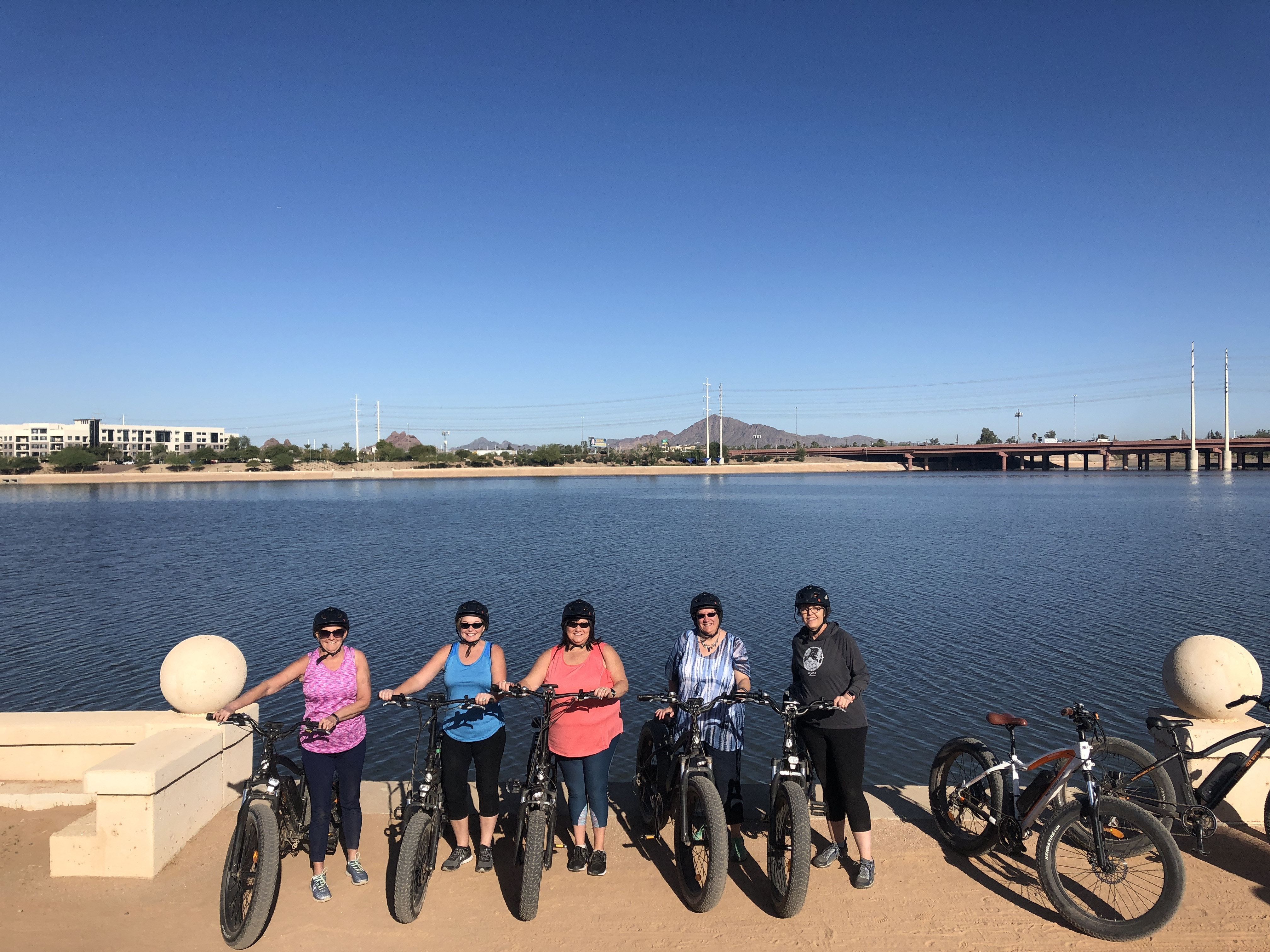 Tempe Town Lake Bike Tour