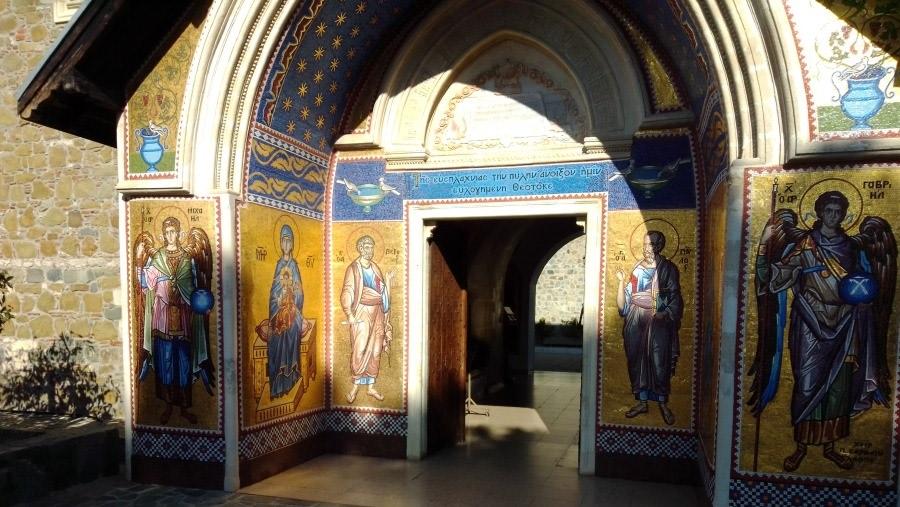 Visit the Kykkos Monastery in Cyprus