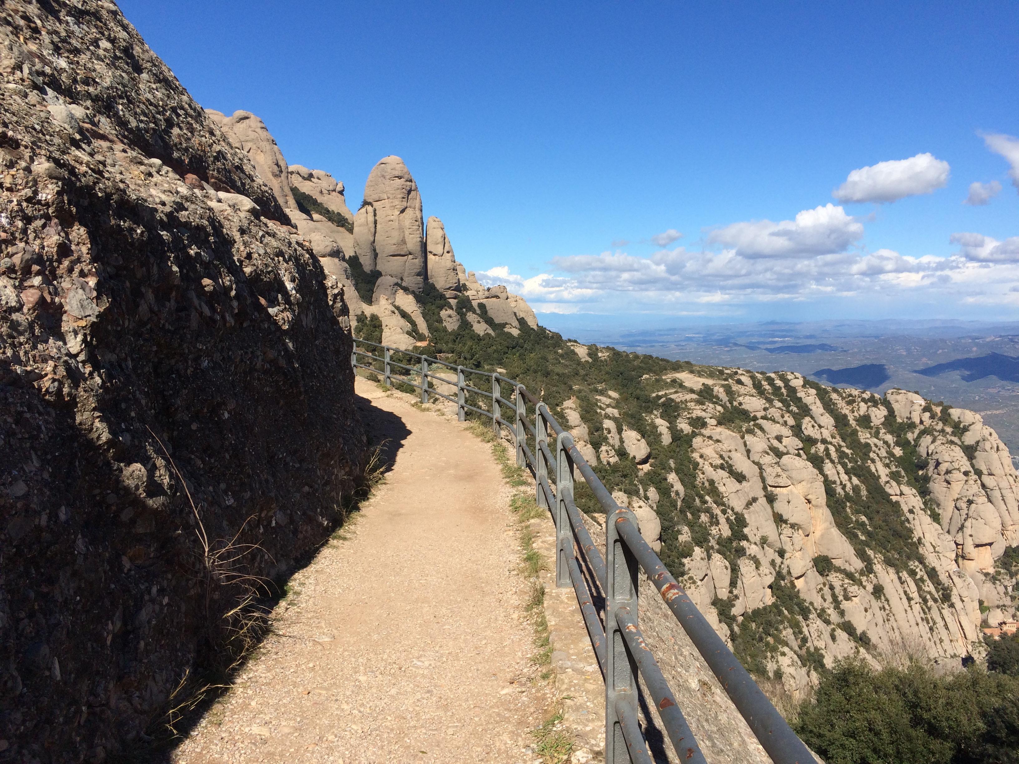 Montserrat hiking trails