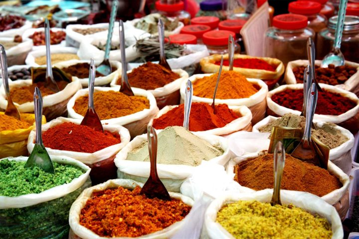 Spice market in Jaipur