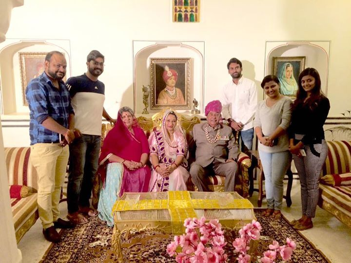 Meet a royal family at Kalwar Castle